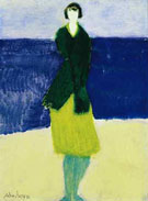 Walker by the Sea 1961 - Milton Avery