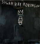 Jean-Michel-Basquiat Sugar Ray Robinson