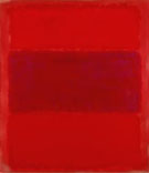 Mark Rothko No 301 Reds and Violet over Red 1959