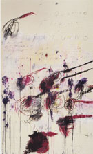 Cy Twombly Four Seasons Autumn