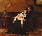 Cecilia Beaux The Last Days of Infancy 1885