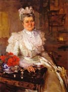 Cecilia Beaux Mrs Thomas A Scott Anna Riddle 1897