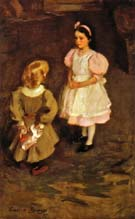 Cecilia Beaux Sister and Brother 1897