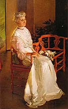 Cecilia Beaux Mrs Richard Low Divine Susan Sophia Smith 1907