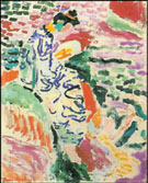 La Japonaise, Woman Beside the Water 1905 - Matisse