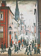 The Organ Grinder 1934 - L-S-Lowry