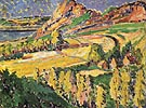Autumn in France 1911 - Emily Carr reproduction oil painting