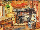 Emily Carr Brittany Kitchen 1911