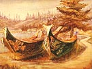 Emily Carr War Canoes 1908