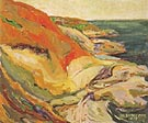 Along the Cliff Beacon Hill 1919 - Emily Carr