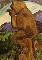 Laughing Bear 1941 - Emily Carr