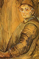 Self Portrait 1938 - Emily Carr