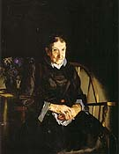 George Bellows Aunt Fanny Old Lady in Black 1920