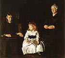 George Bellows Elinor Jean and Anna  1920