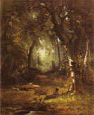 George Inness The Huntsman 1859