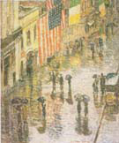 St Patrick s Day 1919 - Childe Hassam