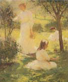Girls in the Garden  1906 - Frank Weston Benson