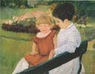 In the Park 1893 - Mary Cassatt