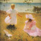 The Sisters 1899 - Frank Weston Benson