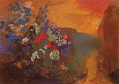 Ophelia Among the Flowers 1947 - Odilon Redon