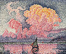 Antibes The Pink Cloud 1916 - Paul Signac