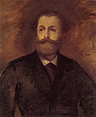 Portrait of Antonin Proust 1877 - Edouard Manet