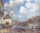 Alfred Sisley Reproduction oil painting of Flood at Port Marly 1876
