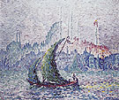 Constantinople the Gold Coast 1907 - Paul Signac reproduction oil painting
