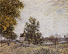 Alfred Sisley Reproduction oil painting of Outskirts of Les Sablons 1886