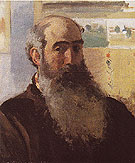 Self Portrait 1873 - Camille Pissarro