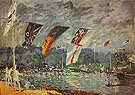 Alfred Sisley Reproduction oil painting of Regatta at Molesey 1874