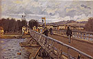 Alfred Sisley Reproduction oil painting of Foot Bridge at Argenteuil 1872