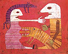 Victor Brauner Frica as Fear 1950