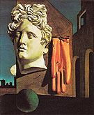 Giorgio de Chirico Song of Love 1914