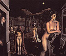 Paul Delvaux The Sleeping Town 1938