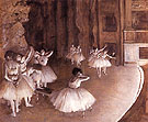 Ballet Rehearsal on the Stage 1874 - Edgar Degas