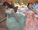 The Entrance of the  Masked Dancers c1884 - Edgar Degas