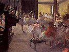 The School of Ballet c1873 - Edgar Degas