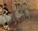 Dancers in Blue c1882 - Edgar Degas