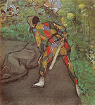 Edgar Degas Harlequin 1885