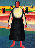 The Harvest 1928 - Kasimir Malevich