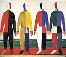 Kasimir Malevich Sportsmen c1928
