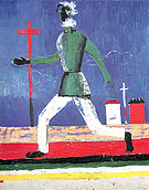 Kasimir Malevich Running Man c1932