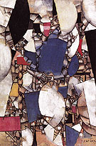 Fernand Leger Woman in Blue 1912