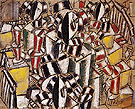 Fernand Leger The Staircase 1914