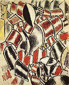 Fernand Leger Woman before a Table 1914