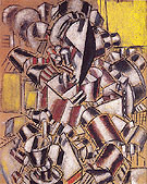 Fernand Leger The Smoker 1914