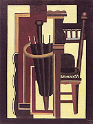 Fernand Leger Umbrella and Bowler 1926