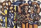 Fernand Leger Adam and Eve c1935