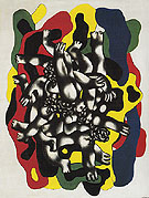 The Divers c1941 - Fernand Leger
